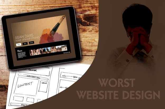 website design ideas for business