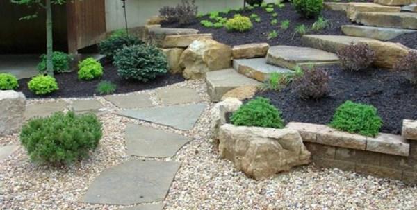 rocking landscaping ideas