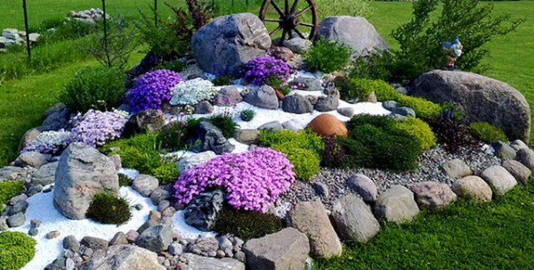 rocking landscaping ideas