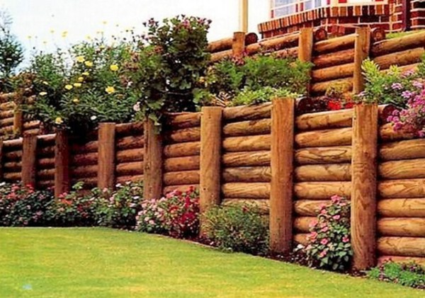 beautiful and cheap garden fence
