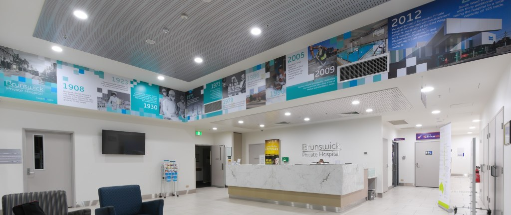 Healthe Care Brunswick Hospital LED Lighting Upgrade by The Green Guys Group