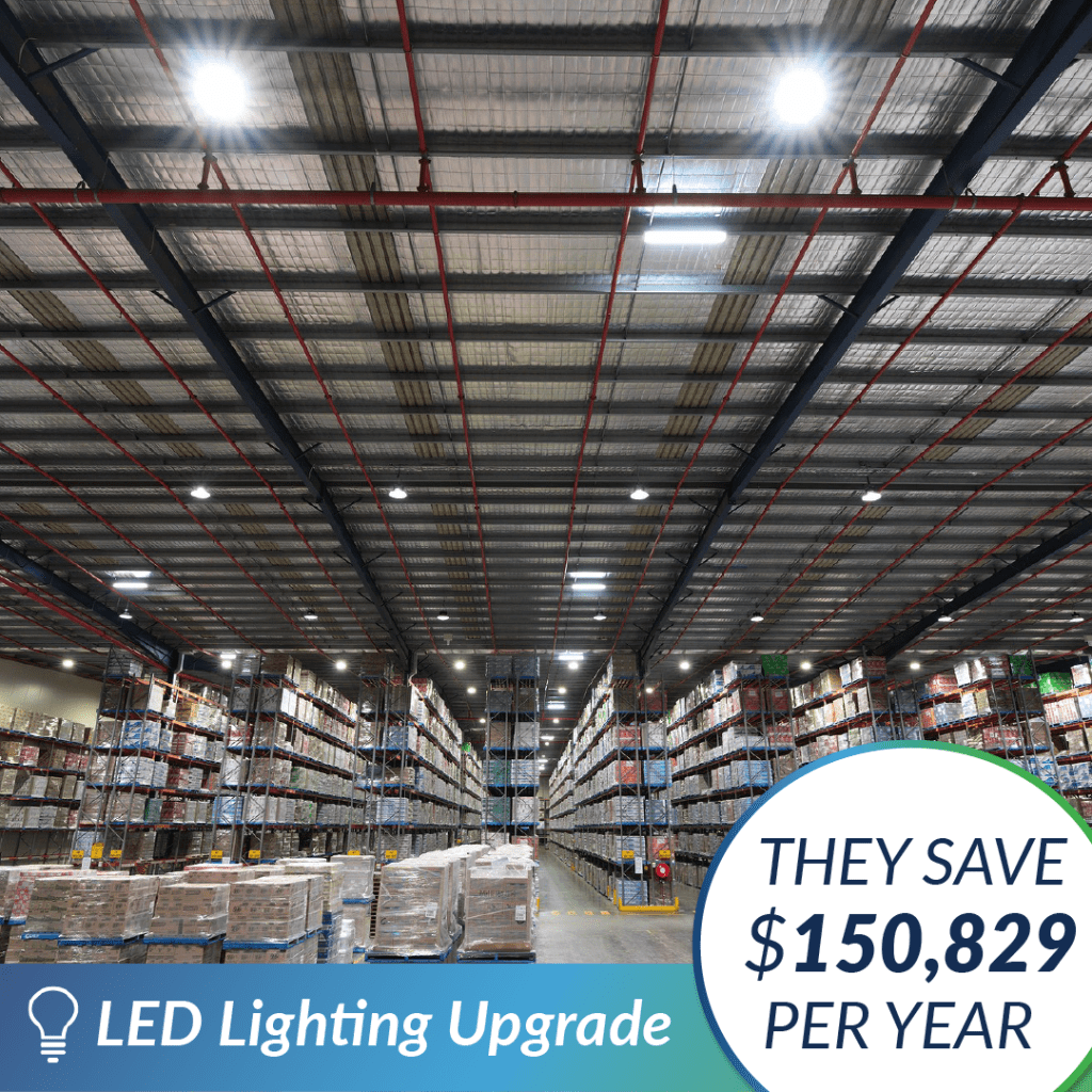 The Green Guys Group - LED Lighting Upgrade - Case Study - Nestle