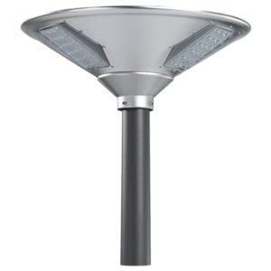 The Green Guys Group - LED Area Post Light - LED Solar Post-Top Light