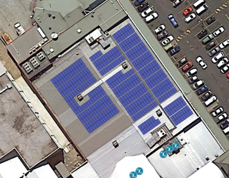 Wattle Grove Shopping Village Solar Microgrid by The Green Guys Group