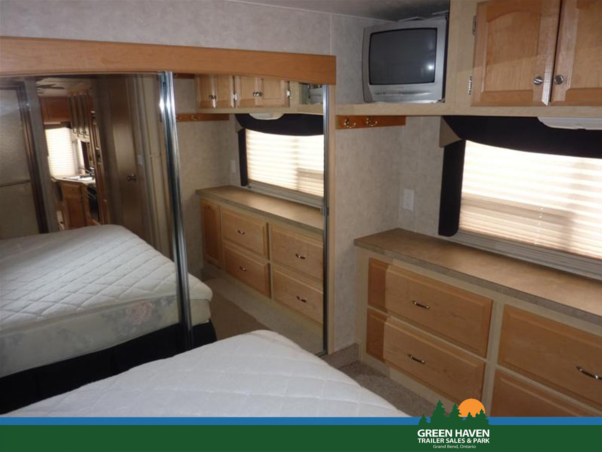 green chair 2005 trailer double moon 30 39 fifth wheel carriage compass haven