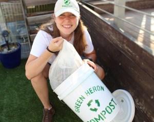 Kat McDearis at Green Heron