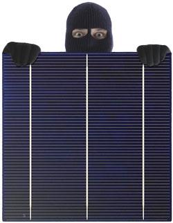 solardiebstahl