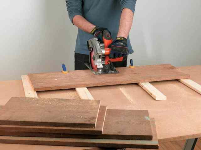 Cutting shelves - Reclaimed window cabinet