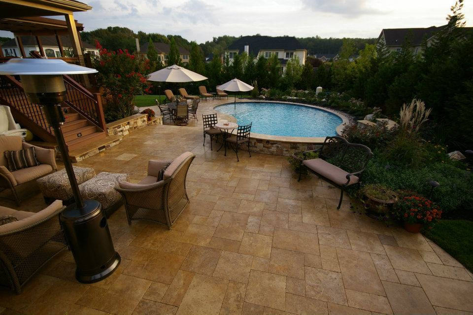queen city stone and tile green home