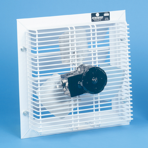 12 760 cfm exhaust fan with thermostat