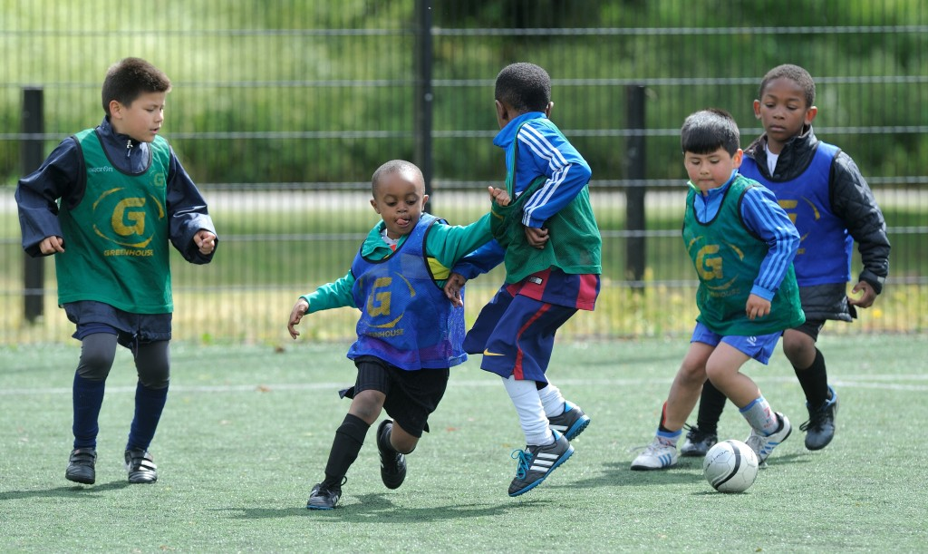 Greenhouse Sports - Football at Burgess Park - 29/5/15 - Picture : Frank Coppi for Greenhouse Sports