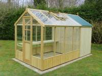Swallow Kingfisher 6x8 Wooden Greenhouse | Greenhouse Stores
