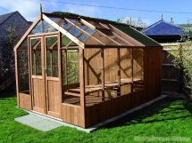 Swallow Raven 8x8 Wooden Greenhouse - Stores