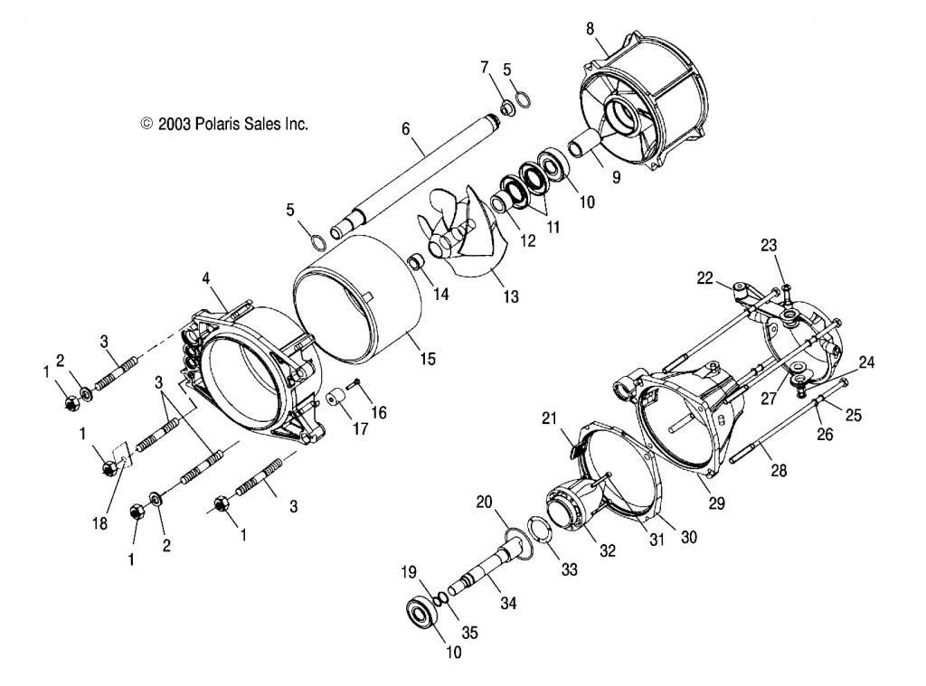Sea Doo Stator Location, Sea, Free Engine Image For User