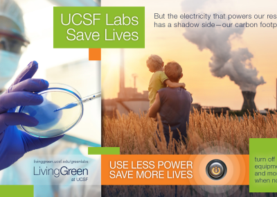 UCSF Green Lab Poster to Reduce Energy Use