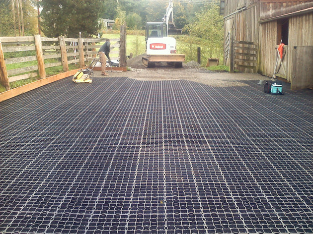 Ecofriendly Plastic Grid Mat Equestrian Sports Floor System Manufacturer from China