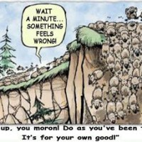 Over The Cliff Without A Lemming?