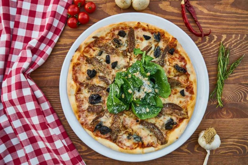 Pizza is perfect for bridal shower lunch