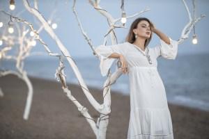 Affordable white bridal shower dresses for the bride