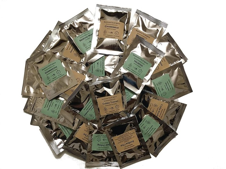 Serve a variety of tea flavors at the tea shower