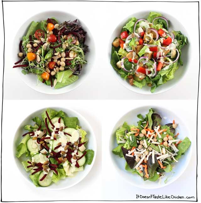 Salad bars are perfect food bar ideas