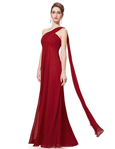 One-Shoulder Bridesmaid Gown