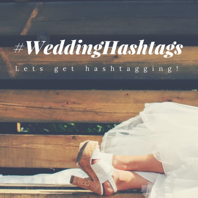 Wedding hashtags services from Fiverr