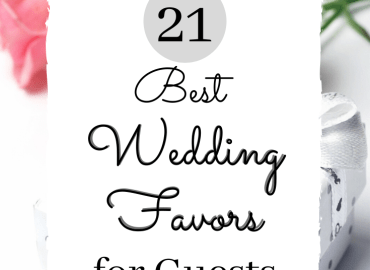 Best wedding favors for guests
