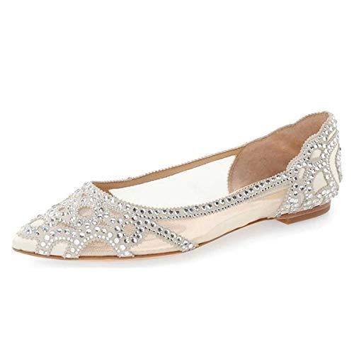XYD Flat Bridal Shoes