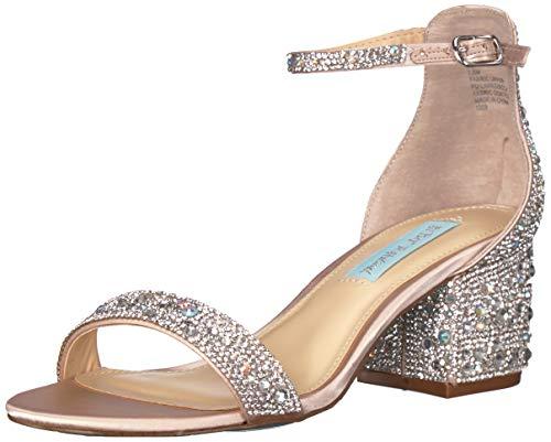 Betsey Johnson Women's Sb-mari Heeled Sandal