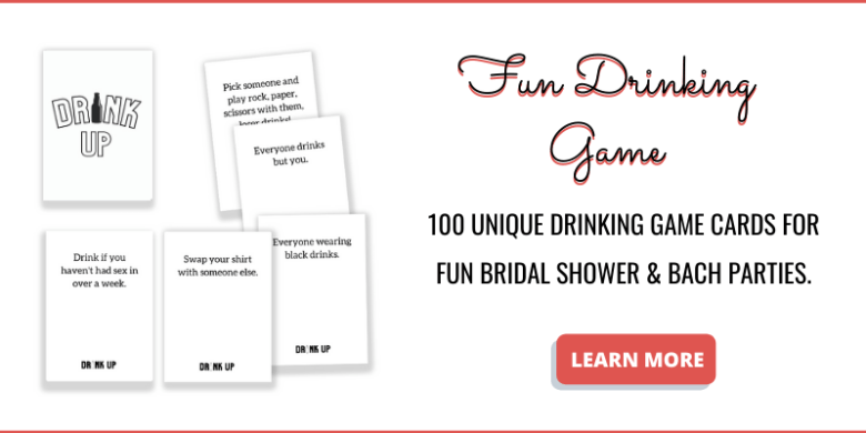 Drinking card games for bachelorette party