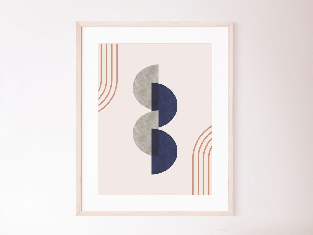 Set of 3 Geometry Art