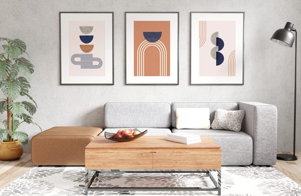 Abstract Geometry Wall Art