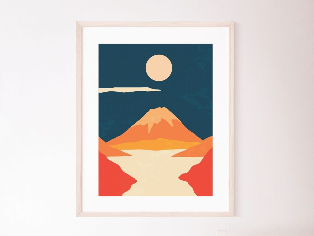 Abstract Japanese Prints