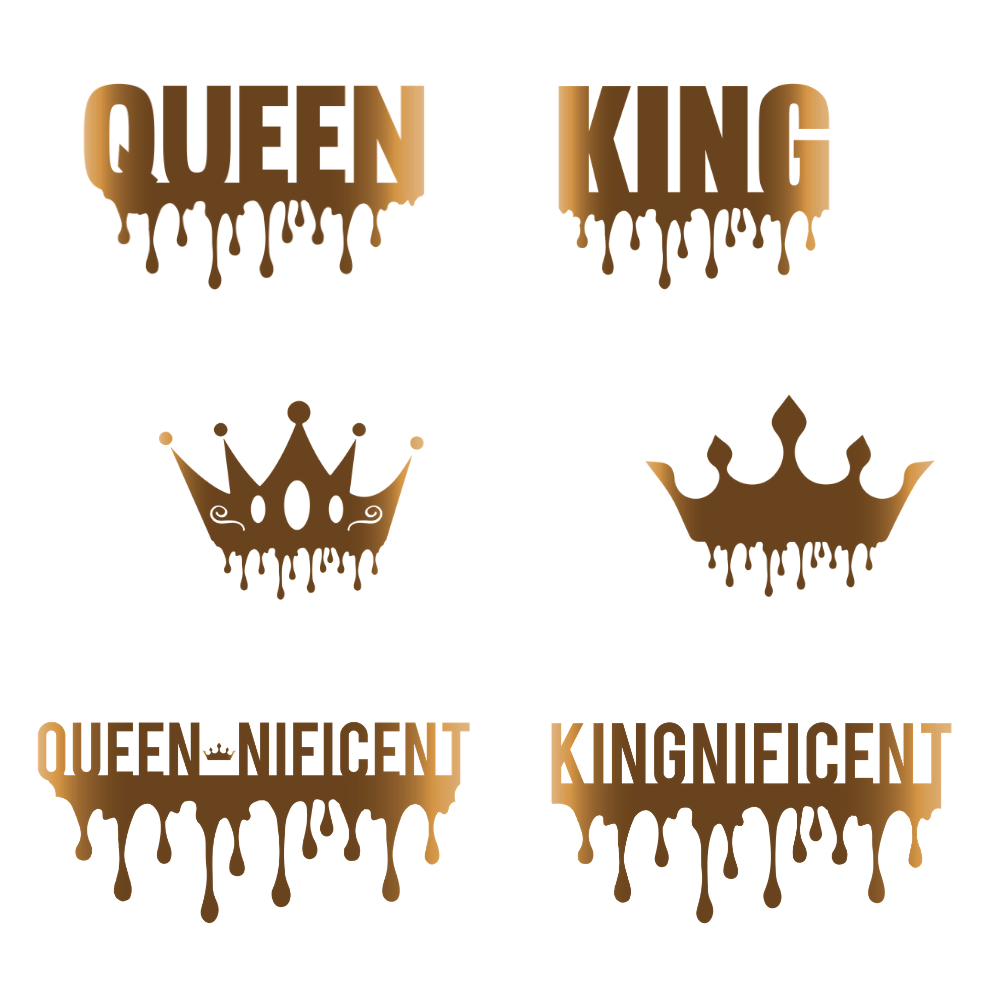King Queen with Crown SVG