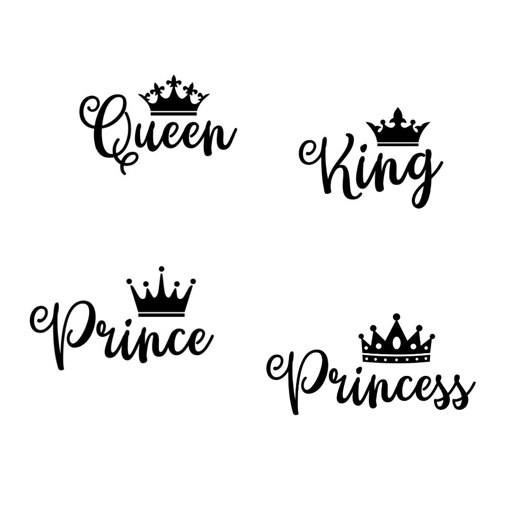 Royal Names SVG Bundle