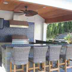 Photos Of Outdoor Kitchens And Bars Cedar Kitchen Cabinets Long Island