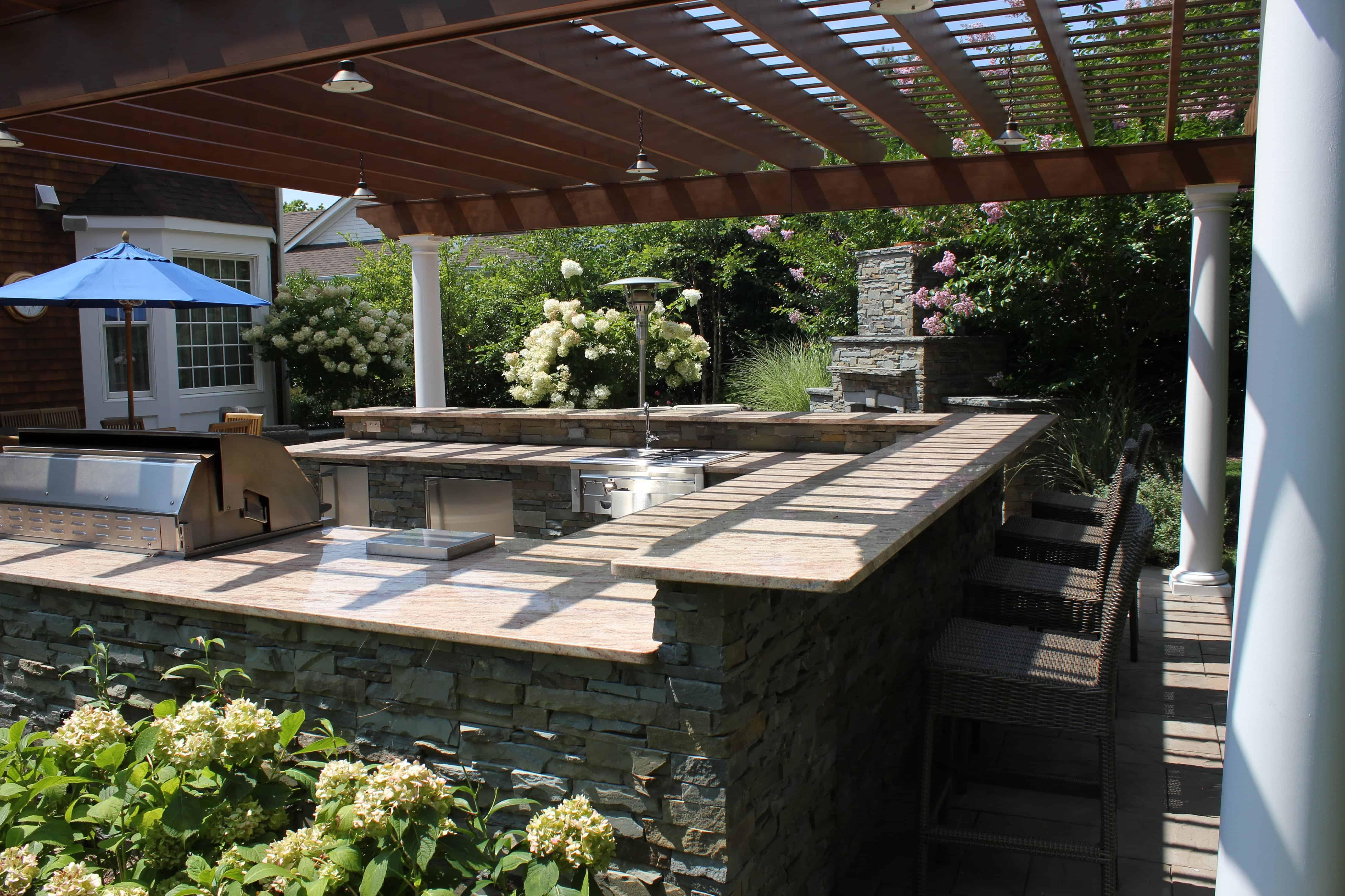 Outdoor Kitchens Amp Bars Outdoor Bars Long Island