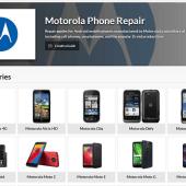 Motorola sur le site iFixit