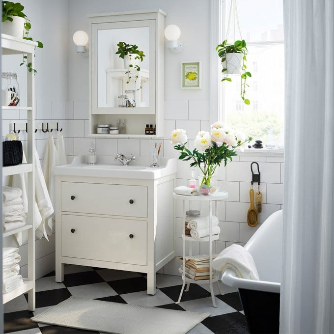 Meuble Salle De Bain Ikea Pour Les Petites Salle De Bain