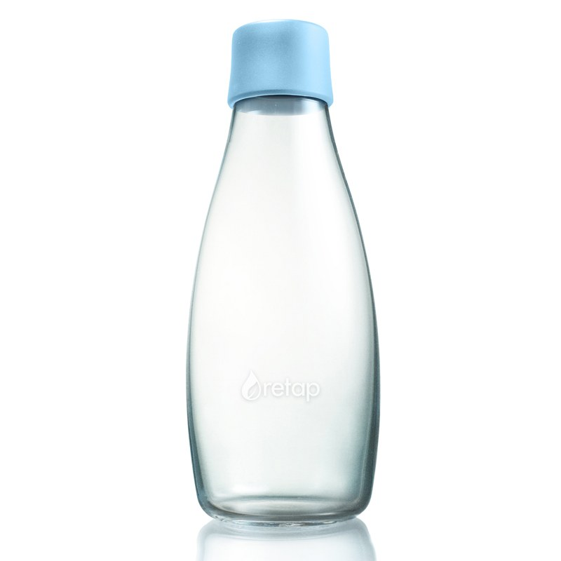 Waterfles duurzaam glas 500ml Retap Original Retap Deens