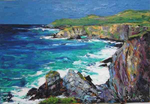 Paintings Michael Flaherty - Greenlane Dingle