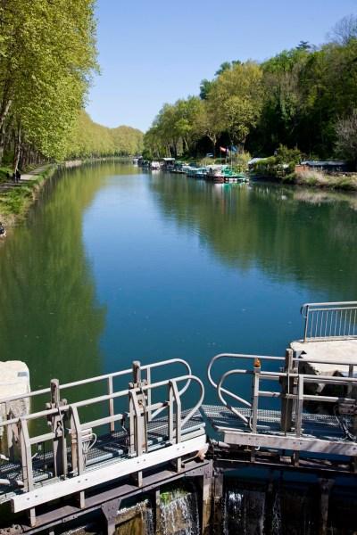 Le canal de la Garonne, Entre-Deux-Mers. © Elodie Rothan