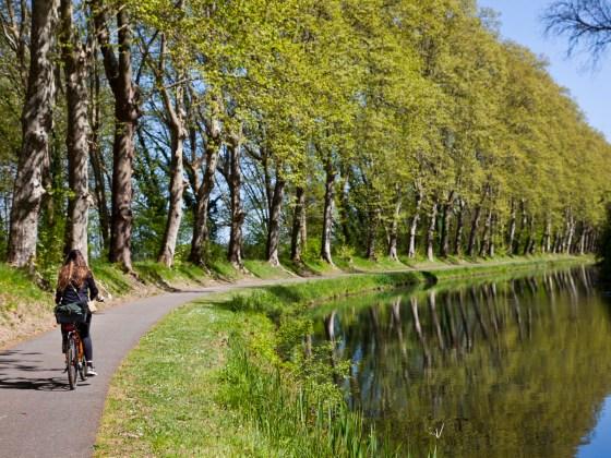 Le canal de la Garonne. © Elodie Rothan