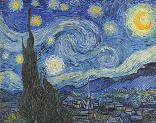 La nuit étoilée, Vincent Van Gogh