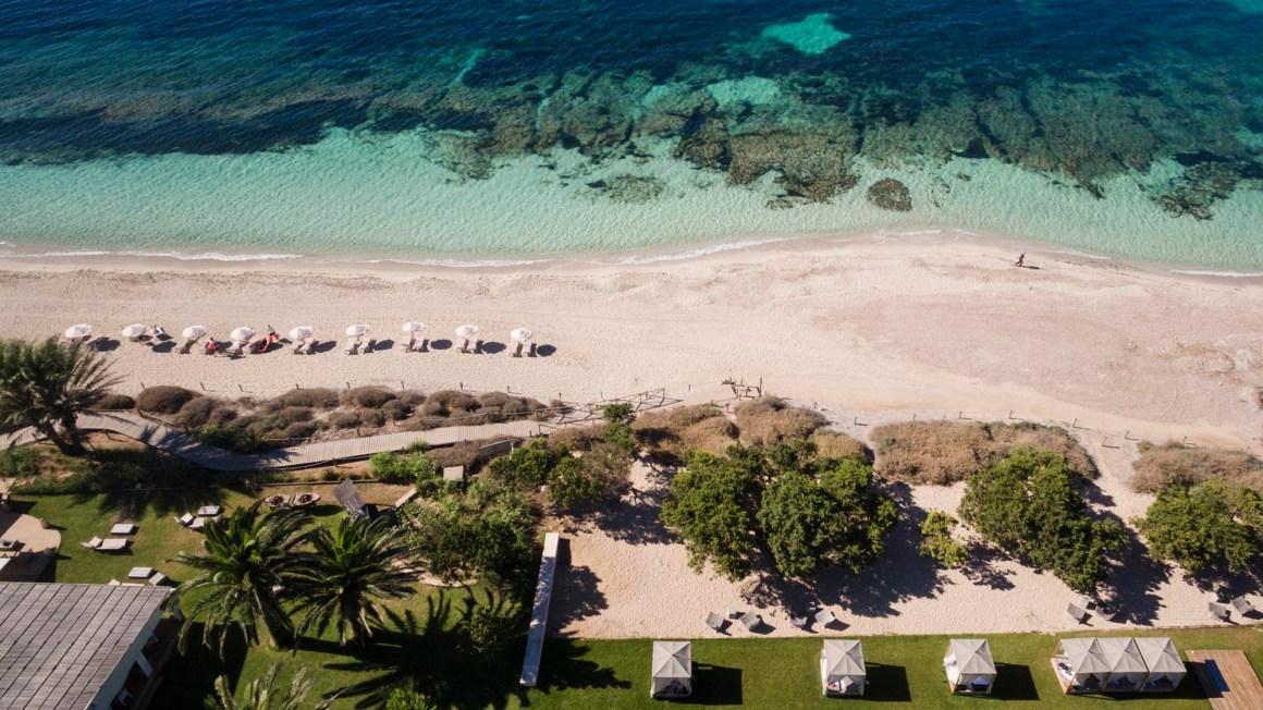 La plage. © Gecko Hôtel & Beach Club