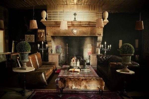 Salon, L'Annexe d'Aubrac. © L'Annexe
