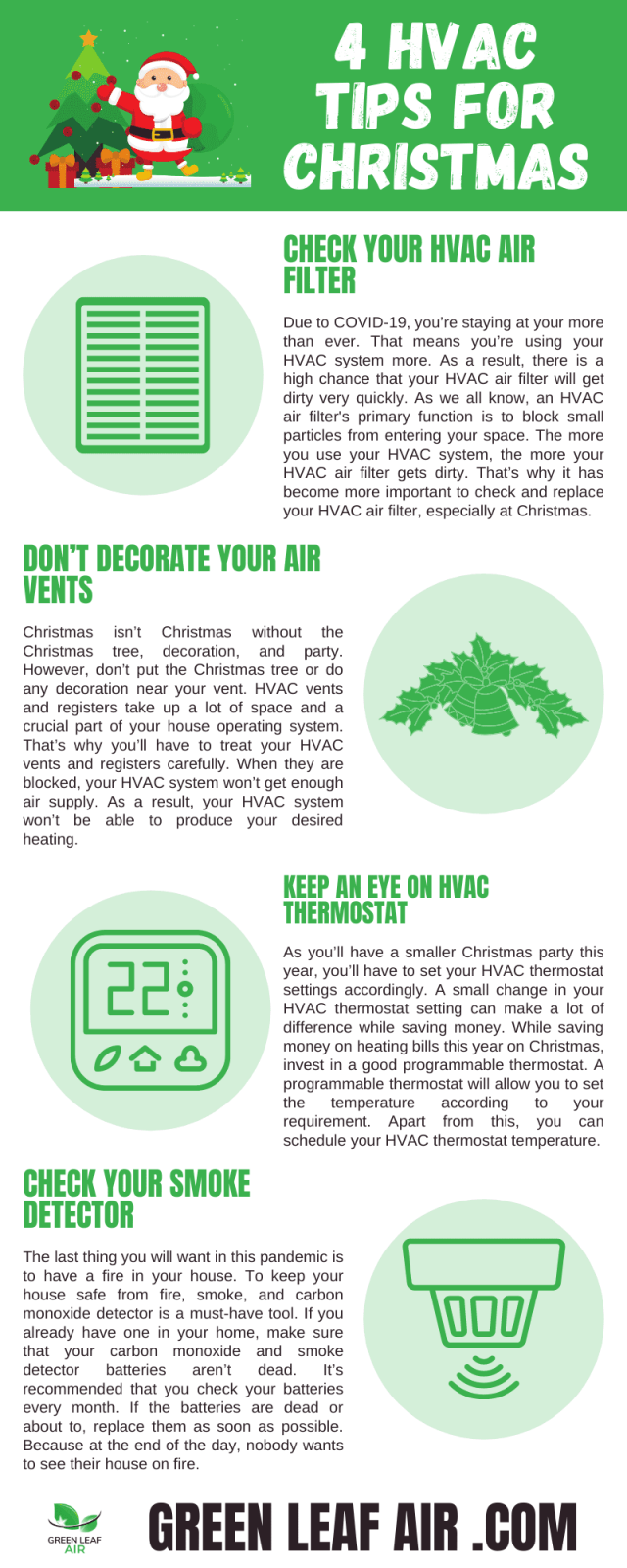 4 HVAC Tips for Christmas