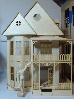 greenleaf dollhouse kits - august