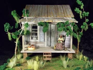 landscaping dollhouse - greenleaf